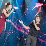 Mireia y Raoul cantan juntos en la gala 3 de 'OT 2017'