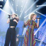 Thalía y Miriam cantan a dúo en la gala 3 de 'OT 2017'