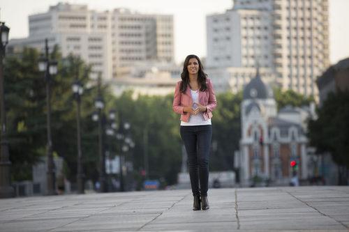 Ana Pastor en la calle en su programa '¿Dónde estabas entonces?'