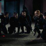 Los protagonistas de 'Cuerpo de élite' preparados para la acción