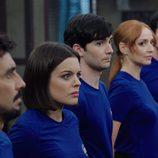 Los protagonistas de 'Cuerpo de élites' muy atentos