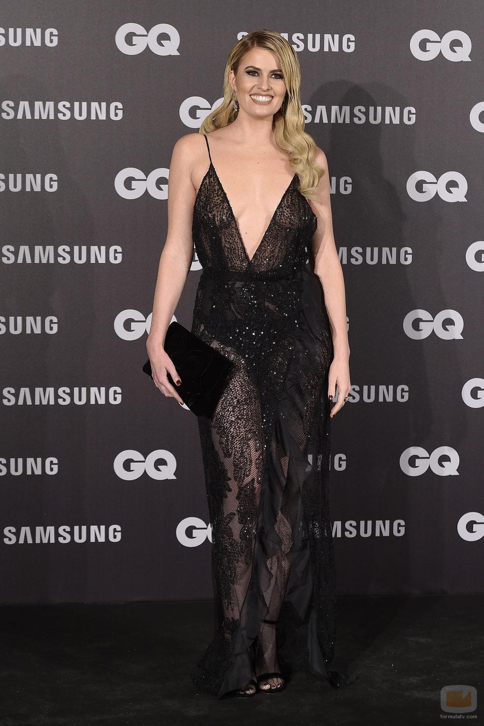 Adriana Abenia en los premios GQ