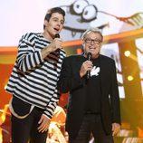 David Amor y Pablo Carbonell cantando