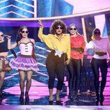 Lucía Gil baila como Whitney Houston en la octava gala de 'Tu cara me suena'