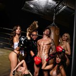 David Lafuente, desnudo integral junto a Torito en Primera Línea