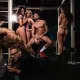 David Lafuente se desnuda junto a Torito para la revista Primera Línea