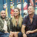 Kiko Rivera, Alyson Eckmann y Carlos Lozano en la 7ª gala de 'GH Revolution'