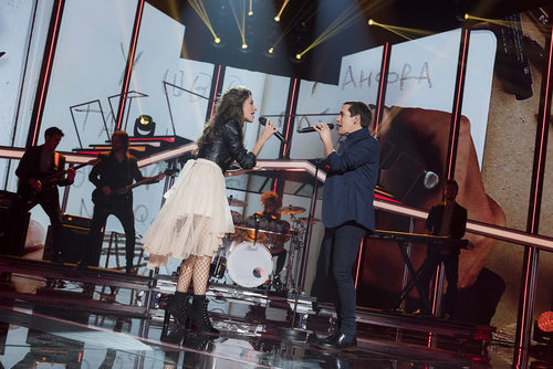 Maldita Nerea canta con Ana Guerra en la Gala 4 de 'OT 2017'