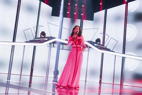 Ruth Lorenzo actuó, como artista invitada, en la Gala 4 de 'OT 2017'
