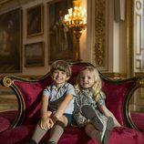 Los hijos de la reina Isabel II en la segunda temporada de 'The Crown'