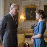 David e Isabel en la segunda temporada de 'The Crown'