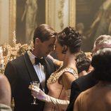 Tony y Margaret en la segunda temporada de 'The Crown'