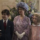 La Reina Madre, Ana y Carlos en la segunda temporada de 'The Crown'