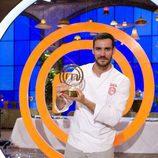 Saúl Craviotto, ganador de 'MasterChef Celebrity 2'
