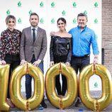 Frank Blanco, Miki Nadal, Cristina Pedroche, Anna Simón celebran los 1000 programas de 'Zapeando'