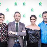 Frank Blanco, Miki Nadal, Cristina Pedroche, Anna Simón en la celebración de los 1000 programas de 'Zapeando'