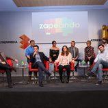 El equipo de Zapeando celebra los 1000 programas