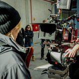 Cámaras de la grabación de la tercera temporada de 'Vis a Vis'