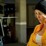 Maggie Civantos en el rodaje de la tercera temporada 'Vis a vis'