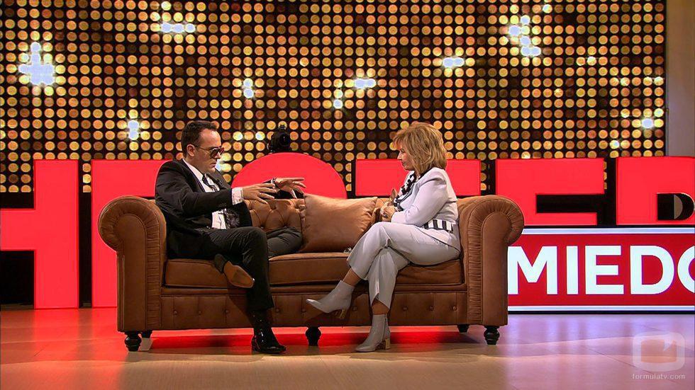 María Teresa Campos se somete a la entrevista de Risto Mejide en 'Chester'