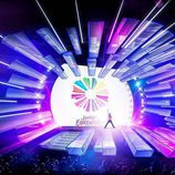 El diseño del escenario de Eurovisión Junior 2017