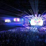 El escenario de Eurovisión Junior 2017, celebrado en Tiflis (Georgia)