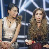 Yangyang junto a Carlota en la sala de expulsión durante la gala 11 de 'GH Revolution'