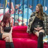 Miriam y Mina se reencuentran en el confesionario en la gala 8 de 'GH Revolution'