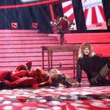 Lucia Gil es Taylor Swift en la Gala 9 de 'Tu cara me suena'