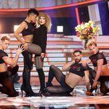 Lucía Gil imita a Taylor Swift en la novena gala de 'Tu cara me suena'
