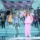 La Terremoto de Alcorcón es Rosalía en la Gala 9 de 'Tu cara me suena'