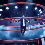 """Miquel Fernández """"vuela"""" en la novena gala de 'Tu cara me suena'"""