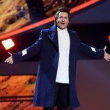 Miquel Fernández imita a Harry Styles en 'Tu cara me suena'