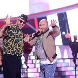 David Amor y Kiko Rivera en la novena gala de 'Tu cara me suena'