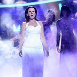 Diana Navarro es Paloma San Basilio en la Gala 9 de 'Tu cara me suena'