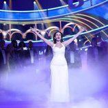 Diana Navarro derrocha elegancia como Paloma San Basilio en 'Tu cara me suena'
