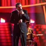 Raúl Pérez es Leonard Cohen en la novena gala de 'Tu cara me suena'