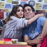 Amador y su nueva novia en el noveno episodio de la décima temporada de 'La que se avecina'