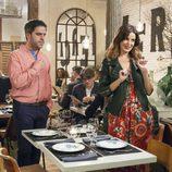 Cena de parejas en el noveno episodio de la décima temporada de 'La que se avecina'