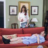 Alba y Antonio Recio en el noveno episodio de la décima temporada de 'La que se avecina'