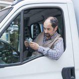 Antonio Recio en su camión en el noveno episodio de la décima temporada de 'La que se avecina'