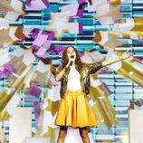 Nicole Nicolaou canta en Eurovisión Junior 2017 como representante de Chipre