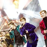Fource canta en Eurovisión Junior 2017 como representante de Países Bajos