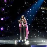 Helena Meraai en Eurovisión Junior 2017 como representante de Bielorrusia