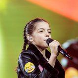 Mariana Venâncio en Eurovisión Junior 2017 como representante de Portugal