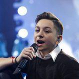 Grigol Kipshidze en Eurovisión Junior 2017 como representante de Georgia