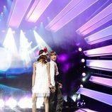 Irina & Jana en Eurovisión Junior 2017 como representante de Serbia