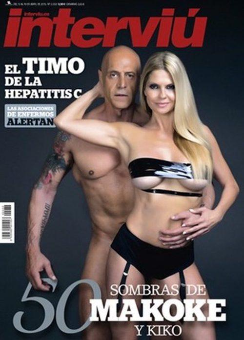Makoke y Kiko Matamoros, desnudos en la portada de Interviú