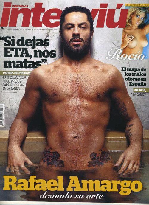 Rafael Amargo se desnuda para Interviú