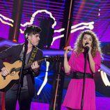 Roi y Amaia en la gala 5 de 'OT 2017'